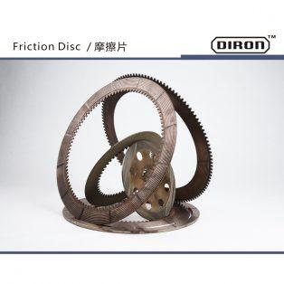 new replace caterpillar fraction disc komatsu fraction disc