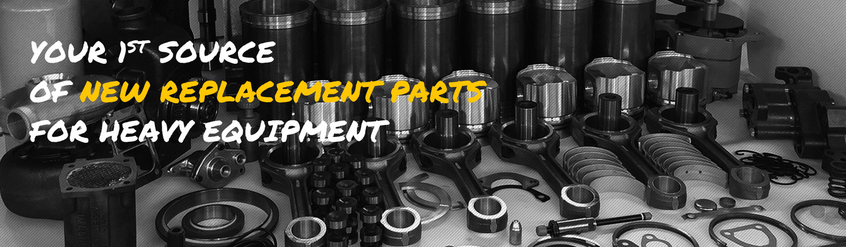 Diron Parts - Your 1st source of new replacement parts for heavy equipment